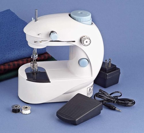 Best Sewing Machine Reviews Part 40 Simple White Sew EZ Mini Sewing Machine