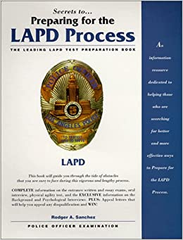 How hard is the lapd written exam?