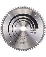Bosch 2608640436 Lame de scie circulaire Optiline Wood 254 x 30 x 2,0 mm, 60, 1 pièce