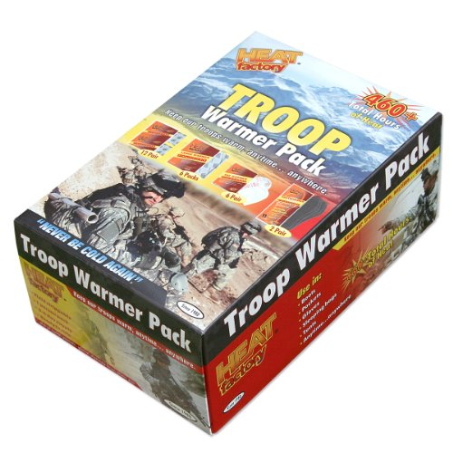 Heat Factory Troop Warmer Pack: 12 Pair Hand,