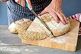 Carenoble Bread Basket Proofing Bowl - Premium Quality 8.5 inch Round Banneton Rattan For Rising Patterns Dough / Sourdough - Professional Brotform for Artisan Bread Baking