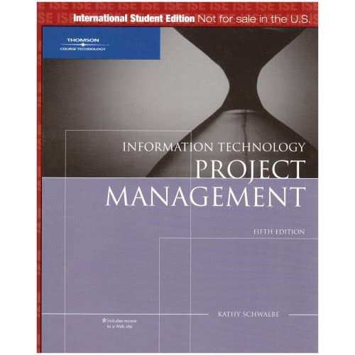 introduction to project management kathy schwalbe pdf
