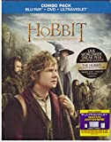 Hobbit Unexpected Journey (Blu-ray/dvd,2013,2-disc,digital Copy) New