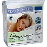 Protect-A-Bed- Premium Queen Waterproof Mattress Protector