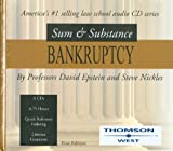 Epsteins Sum And Substance Audio Set on Bankruptcy