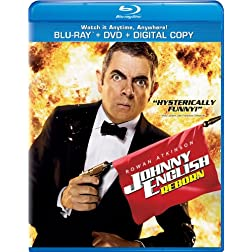 Johnny English Reborn [Two-Disc Combo Pack: Blu-ray + DVD + Digital Copy + UltraViolet]