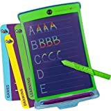 Boogie Board Deluxe Magic Sketch - Color LCD Writing Tablet + 4 Different Stylus and 18 Stencils for Drawing, Writing Tracing eWriter Ages 3+ (Color: Magic Sketch (Old), Tamaño: 13.8 L X 11.77 W in)