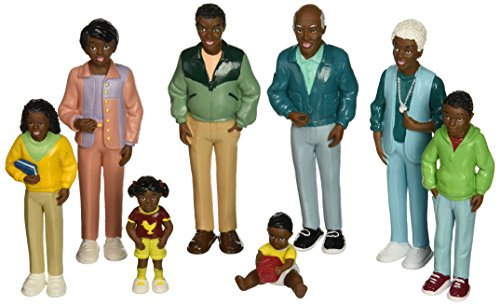 Marvel-Education-Co-MTC-125-Marvel-Education-African-American-Family-Doll-Set