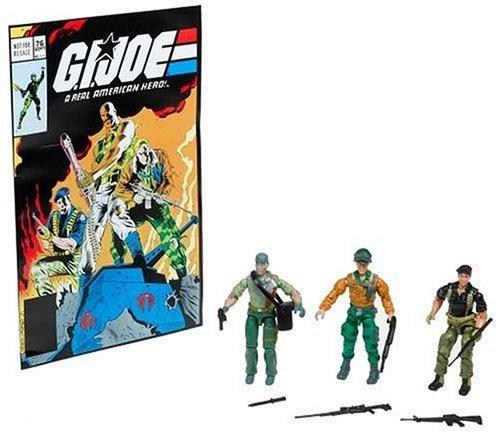 G.I. Joe Comic Pack mit Tunnel Rat, General Abernathy und Flint – Classic Collection Actionfigurenset von Hasbro kaufen
