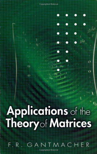 The theory of matrices: with applications