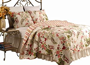 Greenland Home Butterflies Twin Quilt Set
