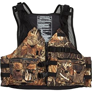 Extrasport Osprey Canoe/Kayak Rafting Fishing Personal Flotation Device/Life Jacket manufactured by Extrasport