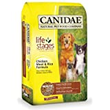 Canidae Dry Dog Food, Chicken Meal and Rice Formula, 30-Pound Bag (Misc.) By CANIDAE          Buy new: $39.94 16 used and new from $37.43     Customer Rating: