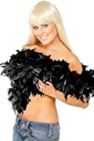 Fever Women's Deluxe Boa Feather 180Cm 80G On Display Card