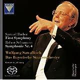 バーバー : 交響曲第1番 | シューマン : 交響曲第4番ニ短調 (Samuel Barber : First Symphony | Robert Schumann : Symphonie Nr. 4 / Wolfgang Sawallisch , Das Bayerische Staatsorchester (Live am 21. Juli 2003)) [SACD Hybrid] [輸入盤]