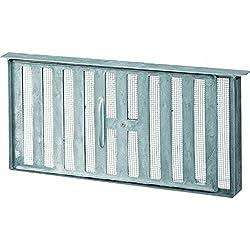 45 Sq In Free Area Aluminum Manual Foundation Vent-FOUNDATION VENT W/SLIDE