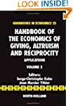 Handbook of the Economics of Giving,...