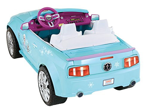 Fisher price power wheels disney frozen movie ford mustang for Fisher price motorized cars