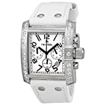 TW Steel Goliath 39 MM White Dial Chronograph Unisex Watch TW118W