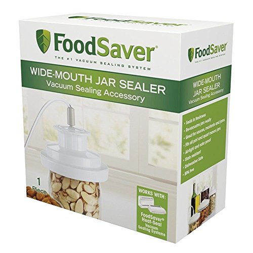 Wide-Mouth Jar Sealer, New, Free Shipping (Vacuum Sealer Jar Attachment compare prices)