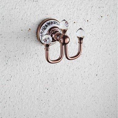 WYJ Moderne Rose Gold Wand montiert Bademantel Haken