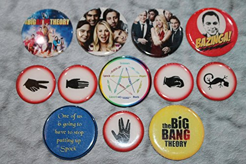 Geocache Swag 2 Inch Refrigerator Magnets - 12 Pcs Big Bang Theory Set 5 of 5 (Big Bang Theory Fridge Magnet compare prices)