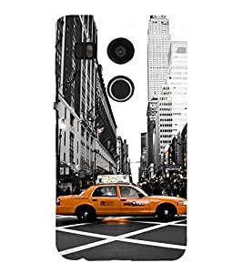 iFasho Car In newyork City taxi Back Case Cover for Huawei Google Nexus 6P