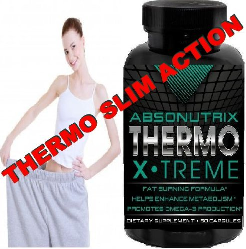 2 Bottles - Absonutrix Thermo X.Treme - Fat Burner With Xtreme Thermogenic Action