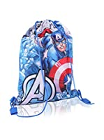 Marvel Mochila Captain America (Azul Royal)