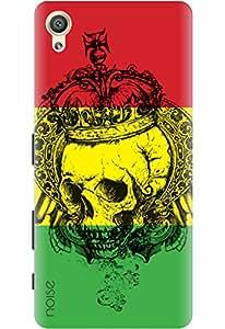 Noise Designer Printed Case / Cover for Sony Xperia X Dual / Graffiti & Illustrations / King Skull Design