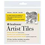Strathmore Artist Tiles bristol vellum pack of 20 4 in. x 4 in.