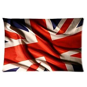England British Flag Uk Vivid Red Blue