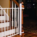 EZ-Fit Baby Safety Gate Adapter Kit - Protect Banisters and Walls - Great for Children and Pets - Includes (1) adapter side