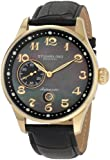 Stuhrling Original Men's 148A.33351 Classic Lineage Grand Automatic Mother-Of-Pearl Date Watch