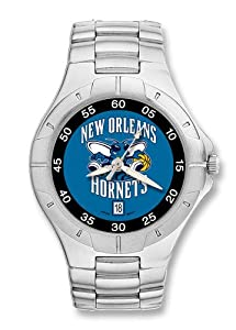 New Orleans Hornets Mens Pro II Watch by Logo Art