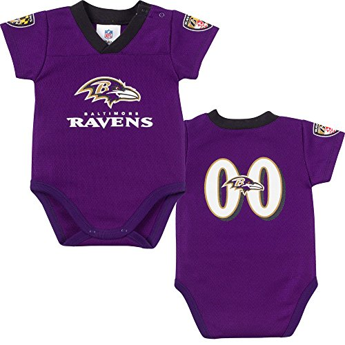 Baltimore Ravens Infant Pacifier with Clip - Black