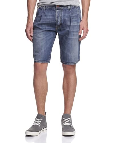 Dolce & Gabbana Men's Pleated Denim Short