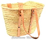Moroccan Beach Market Basket Handbag Brown