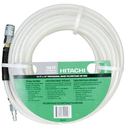 Hitachi 19413F 100-Foot-by-1 4-Inch Polyurethane Air HoseB0001GO15I