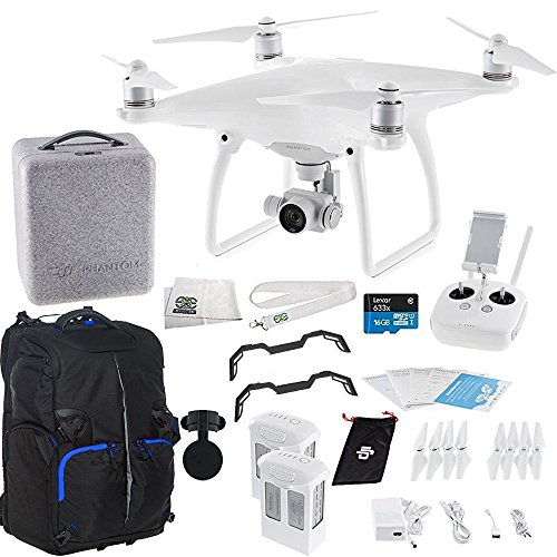 DJI Phantom 4 Quadcopter Essentials Backpack Bundle