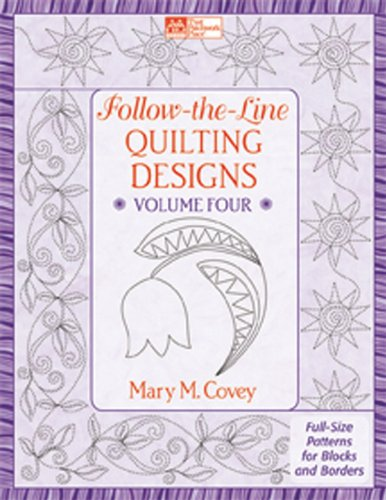 Martingale & Company That Patchwork Place-Follow-The-Line Quilting Designs #4