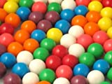 8 Color Tutti Frutti Flavored 1/2 Inch Gumballs (1 POUND)