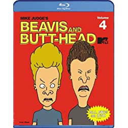 Beavis &amp; Butthead: Volume 4 [Blu-ray]