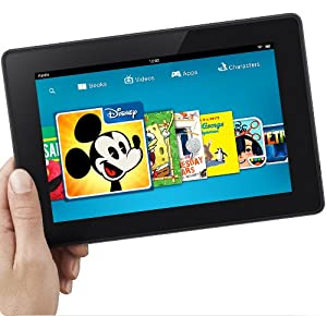 "Certified Refurbished Kindle Fire HD 7"", HD Display by Amazon"