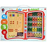 Planet Of Toys Add And Subtract Mathematics Educational Interactive Toy In Easy Carry Case