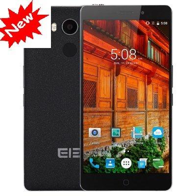 Original 5.5″ Elephone P9000 Smart Mobile Phone Android 6.0 cellphone MTK6755 Octa Core 4GB RAM 32GB ROM Fingerprint ID 13.0MP – BLACK