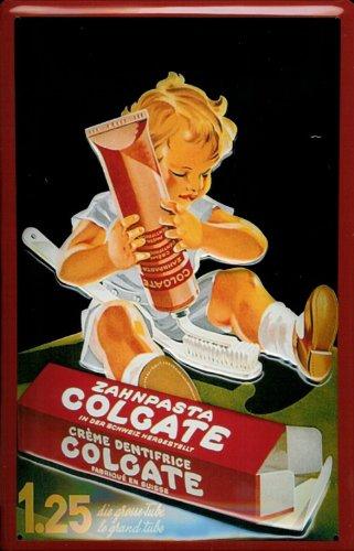 blechschild-nostalgieschild-colgate-zahnpasta-kind-tube-zahnburste-wartezimmer-deko