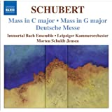 Schubert, F.: Masses Nos. 2 And 4 / Deutsche Messe (Immortal Bach Ensemble, Schuldt-Jensen)