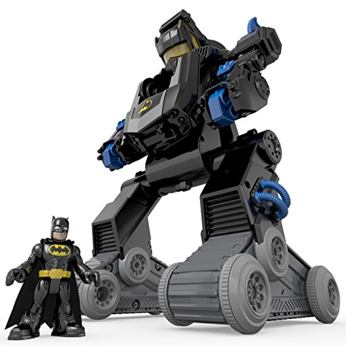 Fisher-Price 费雪 Imaginext DC Super Friends RC Transforming Bat Bot 蝙蝠侠玩具 $49.99(约¥470)图片