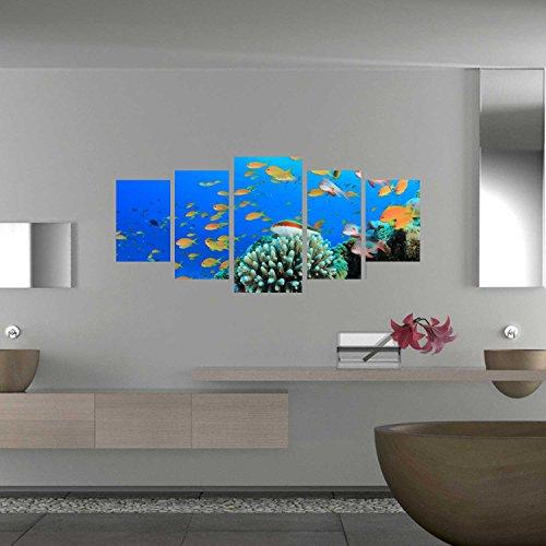 Adesivi murali 5 teilig eye-catcher per il tuo Reef soggiorno WS050